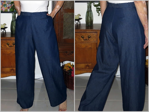 The last post ever about my Strides trousers!