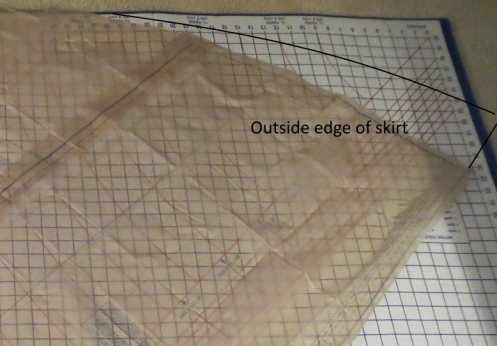 alter skirt