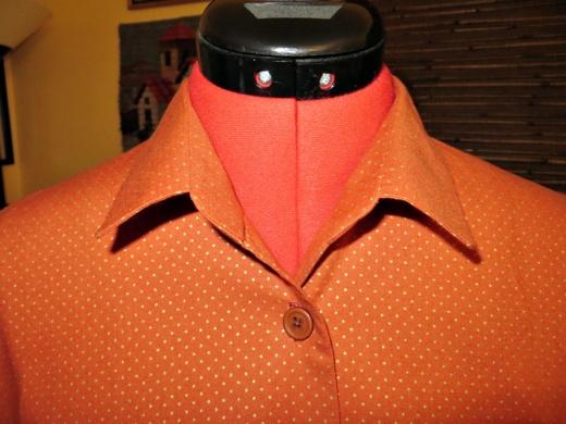 collar sewn