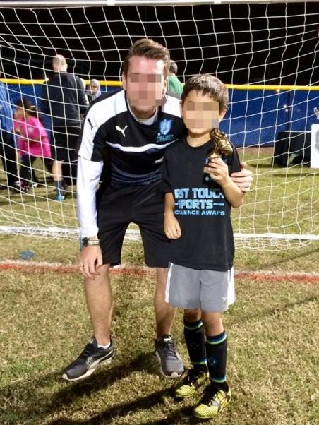 Soccer team - MVP award Nov 2016