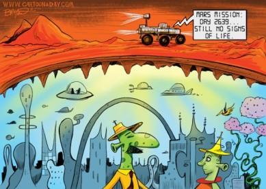 lander cartoon