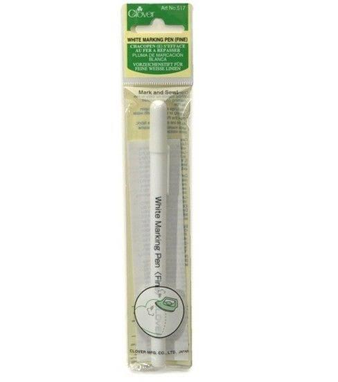 clover white marking pen