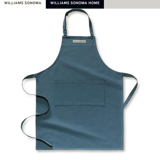 williams sonoma classic apron