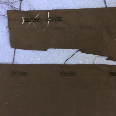 buttonhole practice
