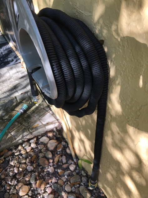 hose on wall