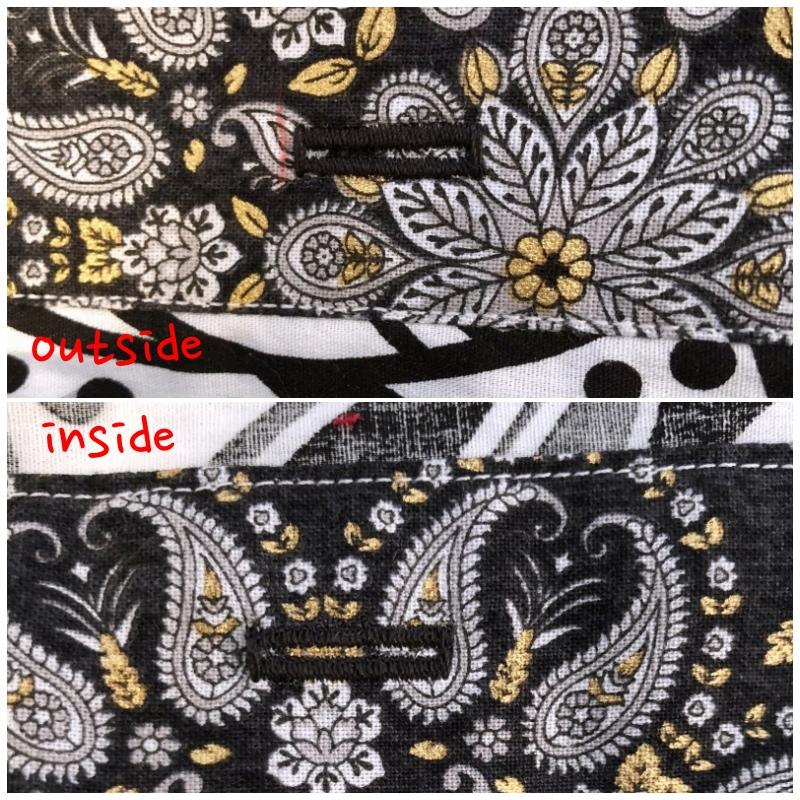 collage buttonholes