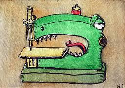 croc sewing machine