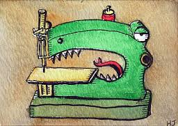 croc sewing machine